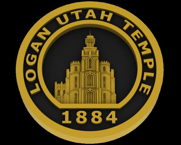 Logan Temple Coin - Brass