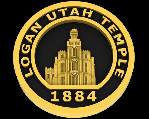 Logan Temple Coin - Gold