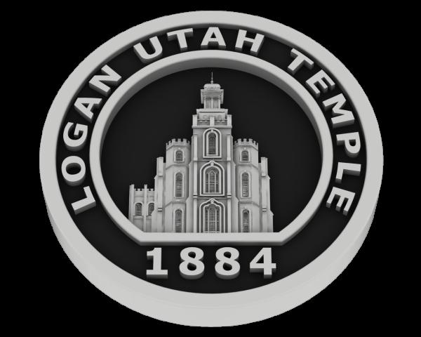 Logan Temple Coin - Silver