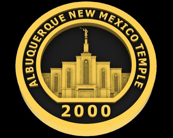 Albuquerque, New Mexico Temple - Gold