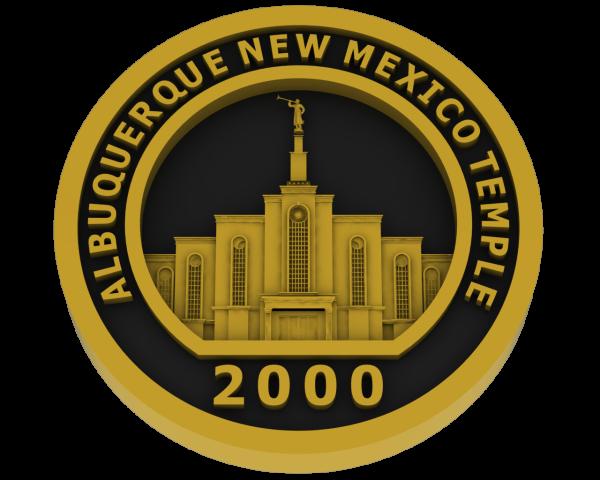 Albuquerque, New Mexico Temple - Brass