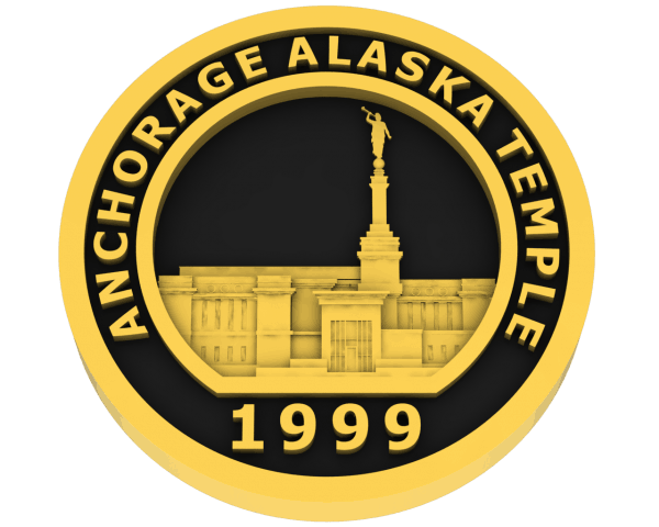 Anchorage, Alaska Temple - Gold