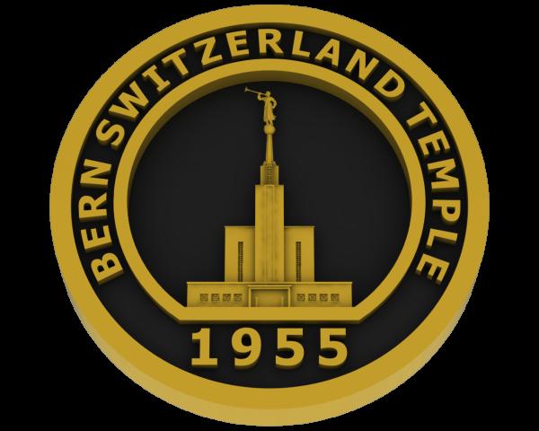 Bern, Switzerland Temple - Brass