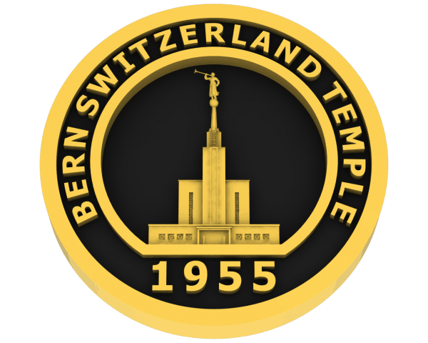 Bern, Switzerland Temple - Gold