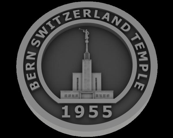 Bern, Switzerland Temple - Pewter