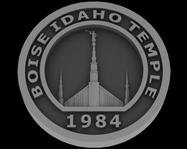 Boise, Idaho Temple - Pewter