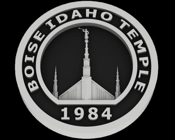 Boise, Idaho Temple - Silver