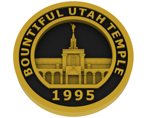 Bountiful, Utah Temple - Brass