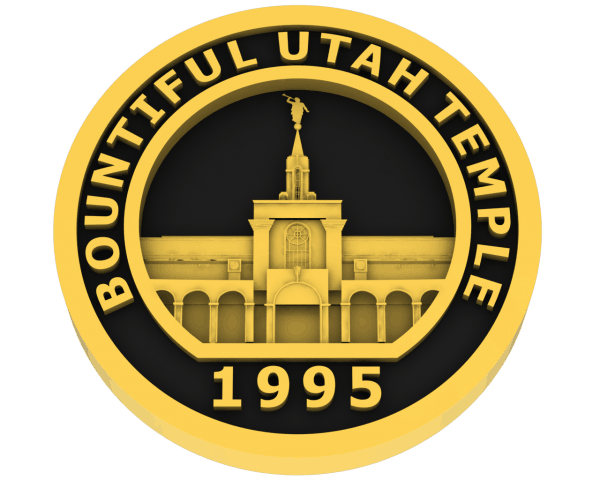 Bountiful, Utah Temple - Gold
