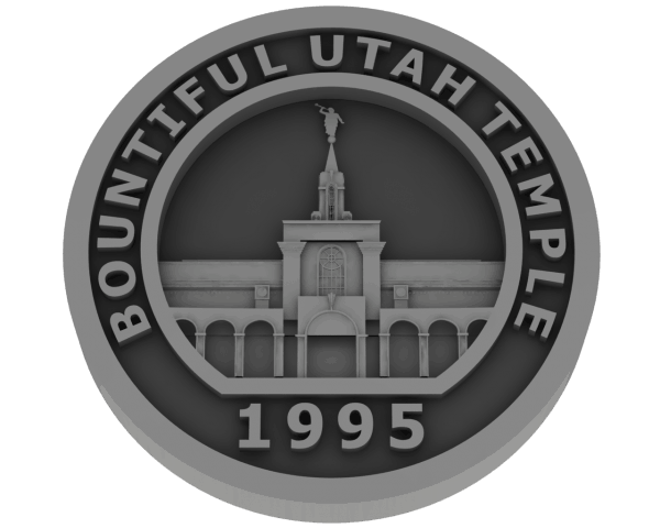 Bountiful, Utah Temple - Pewter