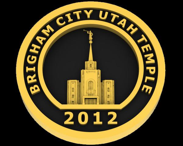 Brigham City, Utah Temple - Gold