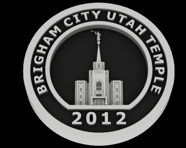 Brigham City, Utah Temple - Silver