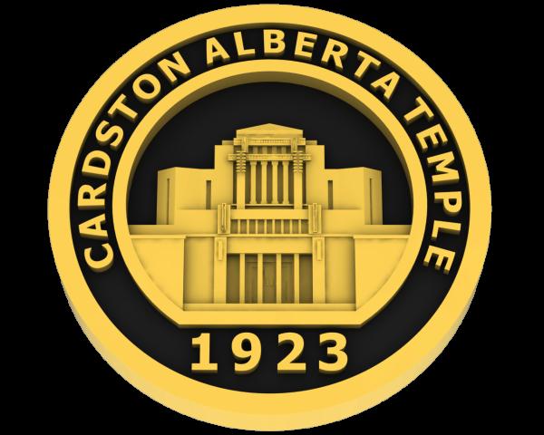Cardston, Alberta Temple - Gold