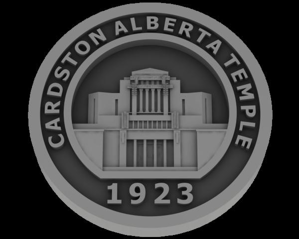 Cardston, Alberta Temple - Pewter