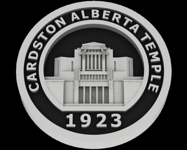 Cardston, Alberta Temple - Silver
