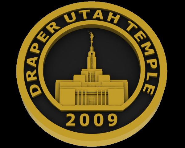 Draper, Utah Temple - Brass