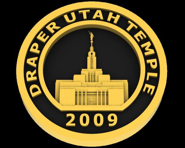 Draper, Utah Temple - Gold