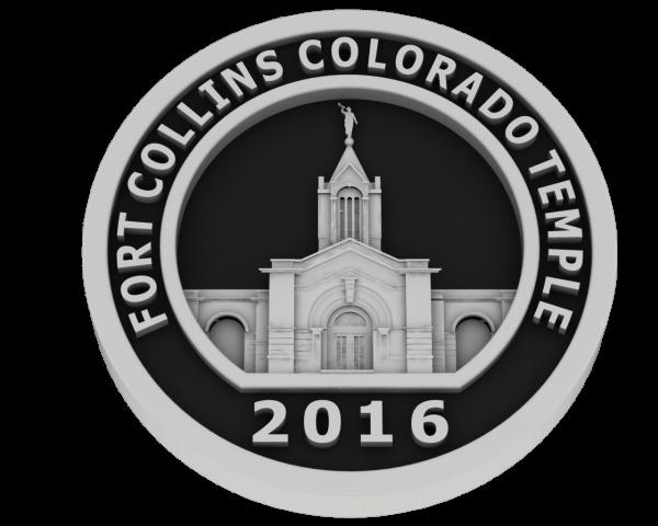 Fort Collins, Colorado Temple - Silver