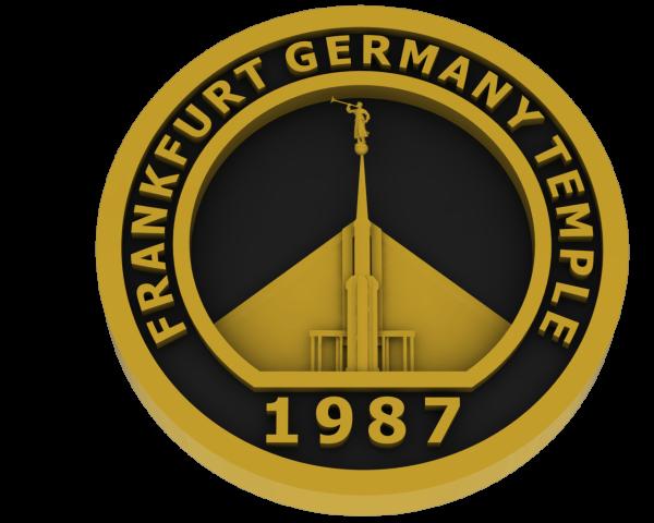 Frankfurt, Germany Temple - Brass