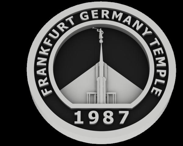 Frankfurt, Germany Temple - Silver