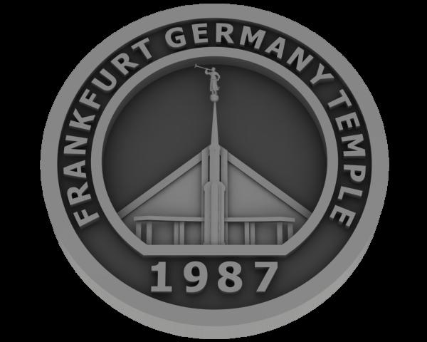 Frankfurt, Germany Temple - Pewter