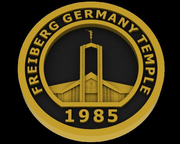 Freiberg, Germany Temple - Brass