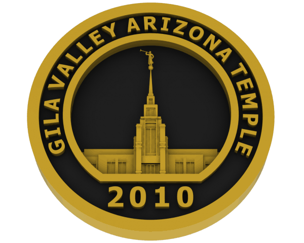 Gila Valley, Arizona Temple - Brass