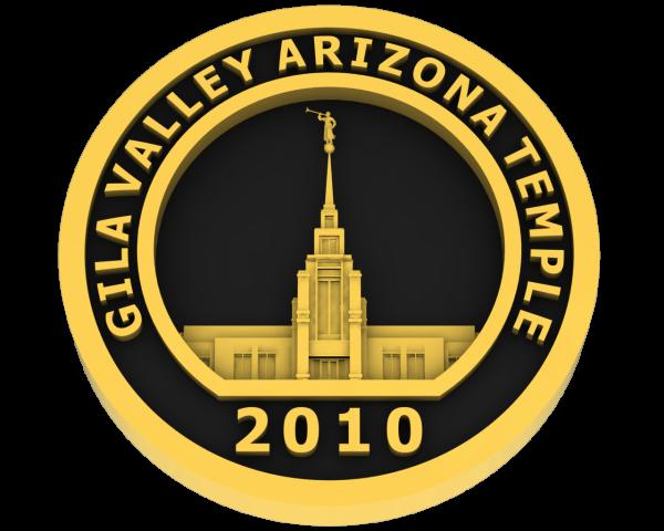 Gila Valley, Arizona Temple - Gold