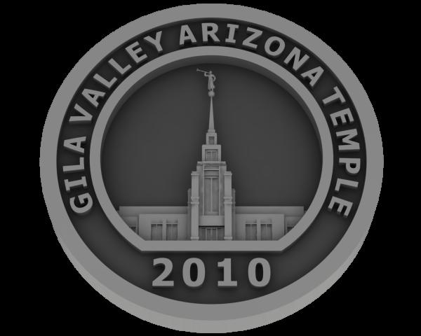 Gila Valley, Arizona Temple - Pewter