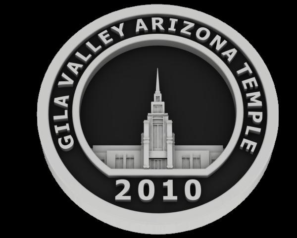 Gila Valley, Arizona Temple - Silver