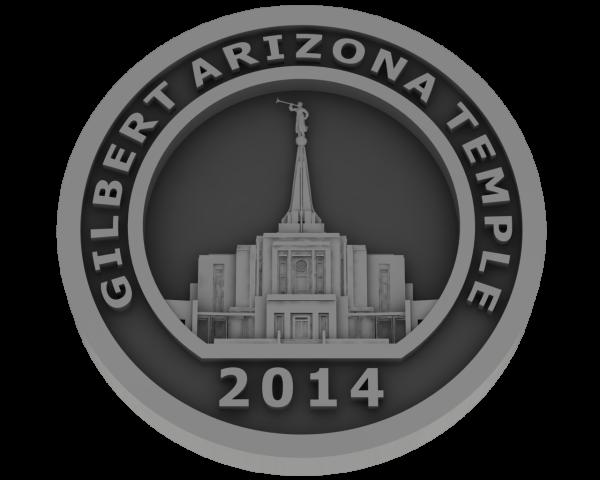 Gilbert, Arizona Temple - Pewter