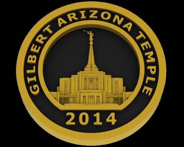 Gilbert, Arizona Temple - Brass