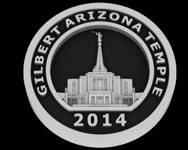 Gilbert, Arizona Temple - Silver