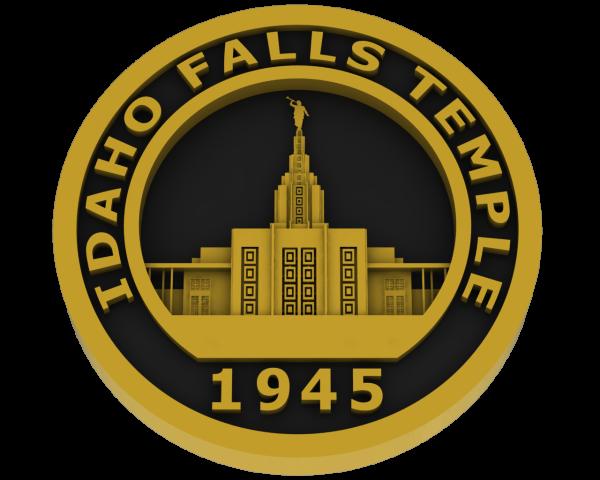 Idaho Falls, Idaho Temple - Brass