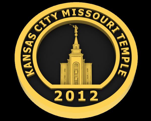 Kansas City, Missouri Temple - Gold