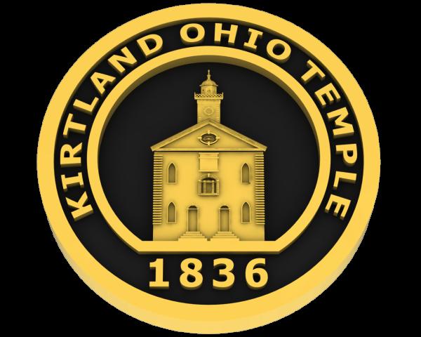 Kirtland Ohio Temple - Gold
