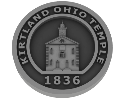Kirtland Ohio Temple - Pewter