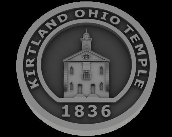 Kirtland Ohio Temple - Pewter