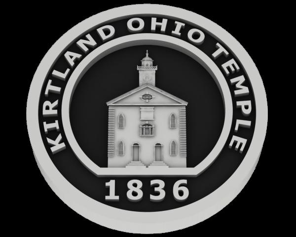 Kirtland Ohio Temple - Silver
