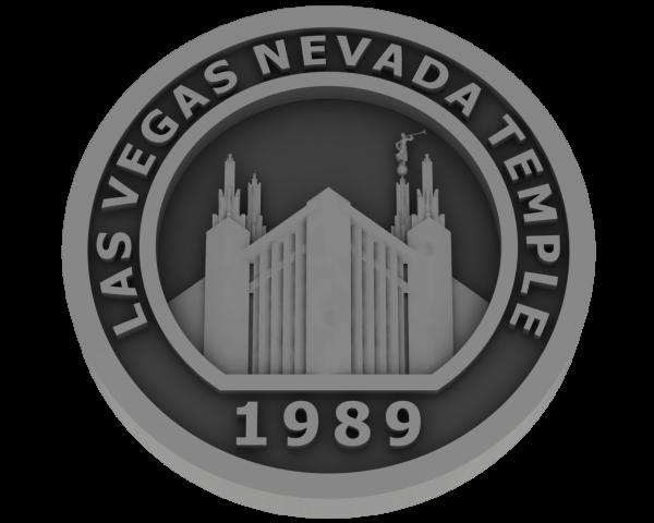 Las Vegas, Nevada Temple - Pewter
