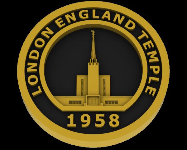 London, England Temple - Brass