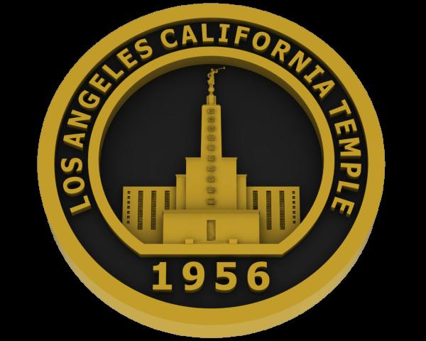 Los Angeles, California Temple - Brass