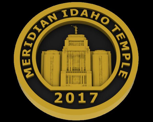 Meridian, Idaho Temple - Brass