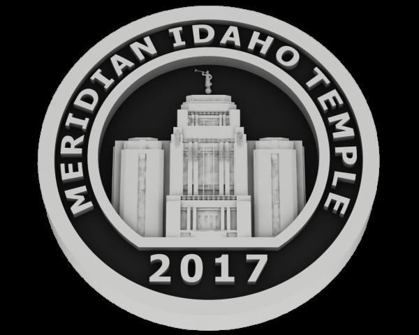 Meridian, Idaho Temple - Silver