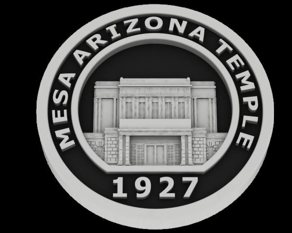 Mesa, Arizona Temple - Silver