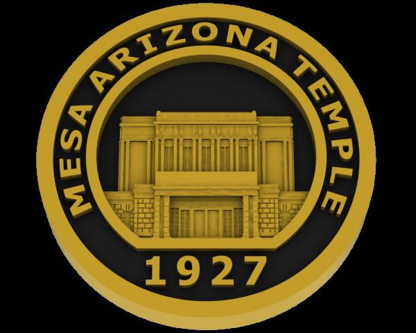 Mesa, Arizona Temple - Brass