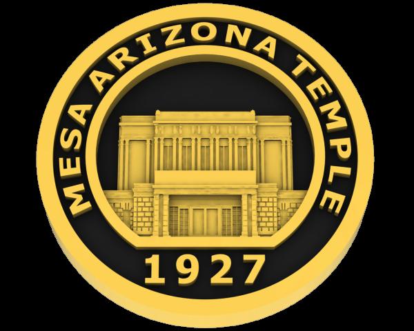 Mesa, Arizona Temple - Gold