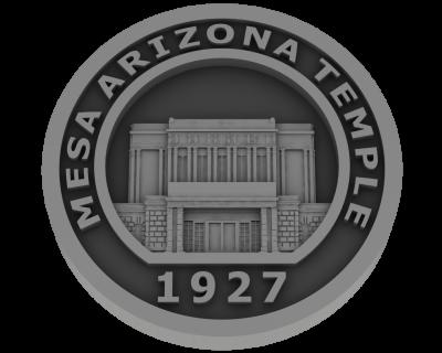 Mesa, Arizona Temple - Pewter