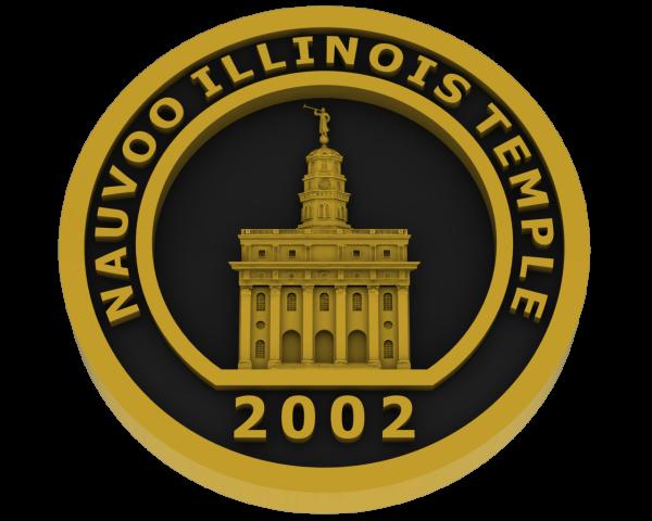 Nauvoo Illinois Temple - Brass