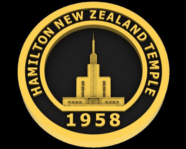 Hamilton, New Zealand Temple - Gold